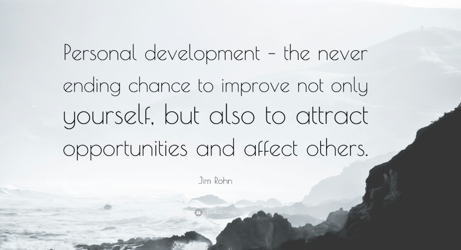 Goals Of Personal Development